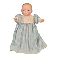 Darling Little Bye Lo Bisque Head Baby Doll with Frog Body