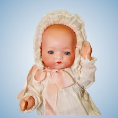Sweet 8 Inch Armand Marseille #341 Infant Baby Doll