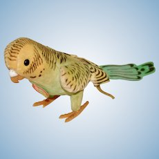 Steiff Velvet Hansi Parrot with Chest Tag and Button