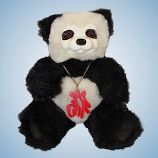 Robert Raikes Fortune Cookie Panda Bear with Box