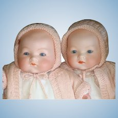 Darling Infant Twins Made by Armand Marseille
