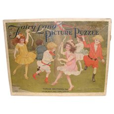 Fairy Land Picture Puzzle Made by Parker Bros.