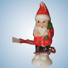 Little All Bisque Santa Claus Made in Japan