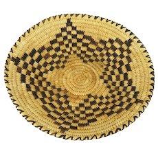 Large Papago/Tohono O'odham Hand Woven Basket