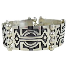 Taxco/Mexico – Sterling Silver Overlay Bracelet