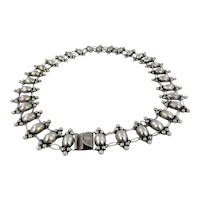 Mexican – EARLY Sterling Silver Concho Belt C. 1920-30s
