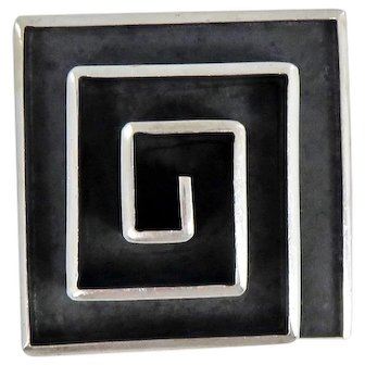 Taxco/Mexican – Isidro Garcia Pina/Maricela Sterling Pin/Pendant