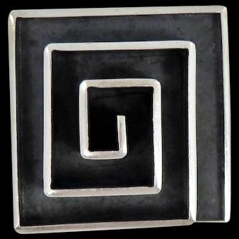 Taxco/Mexican – Isidro Garcia Pina/Maricela Sterling Pin/Pendant