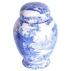 A Victorian ginger jar