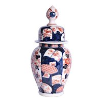 A nineteenth century Imari ginger jar and cover