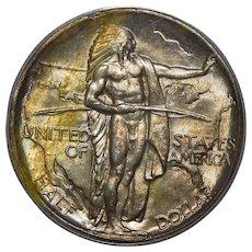 1934-D Pcgs MS66 Oregon Half Dollar