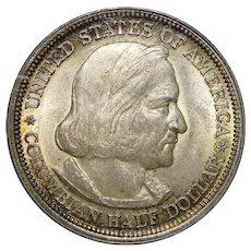 1893 Pcgs MS65 Columbian Half Dollar