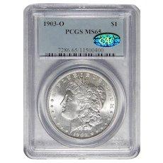 1903-O Pcgs/Cac MS65 Morgan Dollar