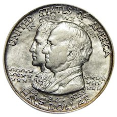1921 Pcgs AU55 Alabama Half Dollar