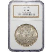 1902 Ngc MS64 Morgan Dollar