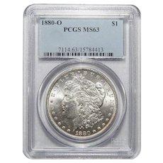 1880-O Pcgs MS63 Morgan Dollar