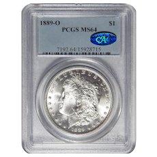 1889-O Pcgs/Cac MS64 Morgan Dollar