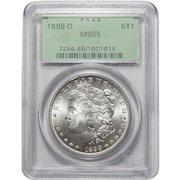 1898-O Pcgs MS65 Morgan Dollar