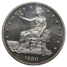 1880 Ngc PF65CAM Trade Dollar