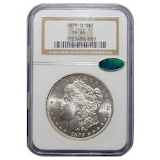 1879-O Ngc/Cac MS64 Morgan Dollar