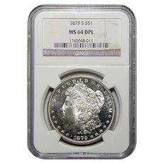 1879-S Ngc MS64DPL Morgan Dollar