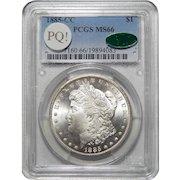 1885-CC Pcgs/Cac MS66 PQ! Morgan Dollar