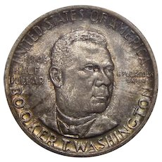 1946 Ngc MS66 Booker T. Washington Half Dollar