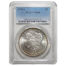 1878-S Pcgs MS66 Morgan Dollar