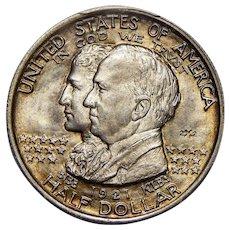 1921 Pcgs MS65 Alabama 2X2 Half Dollar
