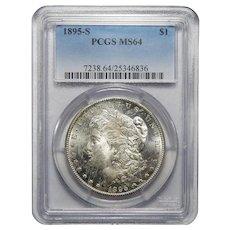 1895-S Pcgs MS64 Morgan Dollar