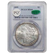 1899 Pcgs/Cac MS66 PQ! Morgan Dollar