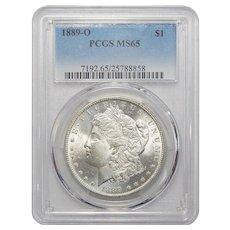 1889-O Pcgs MS65 Morgan Dollar