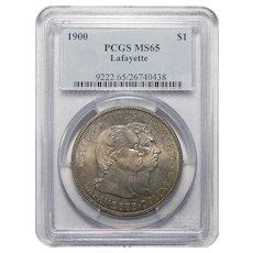 1900 Pcgs MS65 Lafayette Dollar