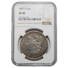 1897-O Ngc XF40 Morgan Dollar