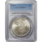 1885-O Pcgs MS64+ Morgan Dollar