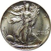 1939 Pcgs/Cac PR67 Walking Liberty Half Dollar