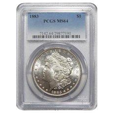 1883 Pcgs MS64 Morgan Dollar
