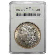 1896-O Anacs AU55 Morgan Dollar