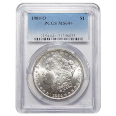 1884-O Pcgs MS64+ Morgan Dollar