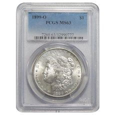 1899-O Pcgs MS63 Morgan Dollar