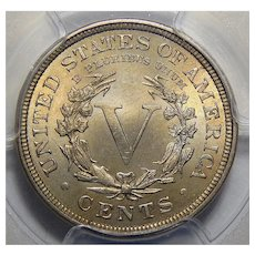 1905 Pcgs PR67CAM Liberty Head Nickel