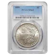 1899 Pcgs MS62 Morgan Dollar