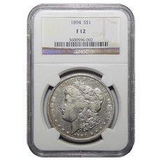 1894 Ngc F12 Morgan Dollar