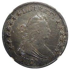 1807 Ngc AU50 Draped Bust Half Dollar