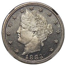 1883 No-Cent Ngc PF65CAM Liberty Nickel