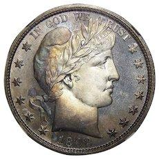 1892 Ngc PF67CAM Barber Half Dollar