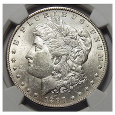 1897-O Ngc MS62 Morgan Dollar
