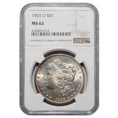 1903-O Ngc MS62 Morgan Dollar