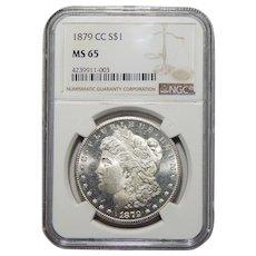 1879-CC Ngc MS65 Morgan Dollar