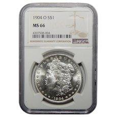 1904-O Ngc MS66 Morgan Dollar
